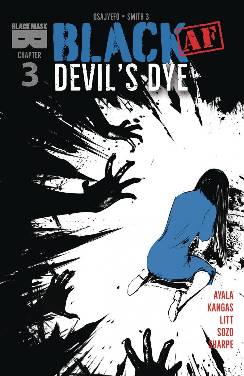 Black AF Devils Dye #3