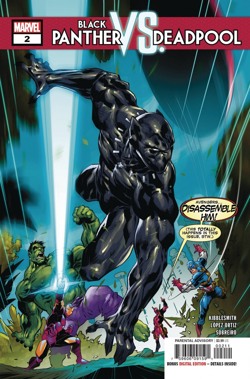 Black Panther Vs Deadpool #5