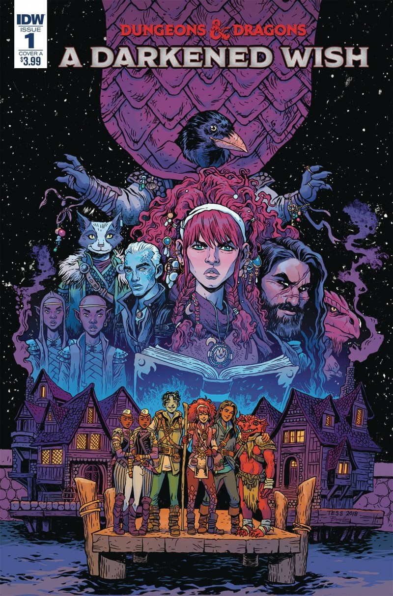 Dungeons and Dragons a Darkened Wish #1 CVR A Fowler