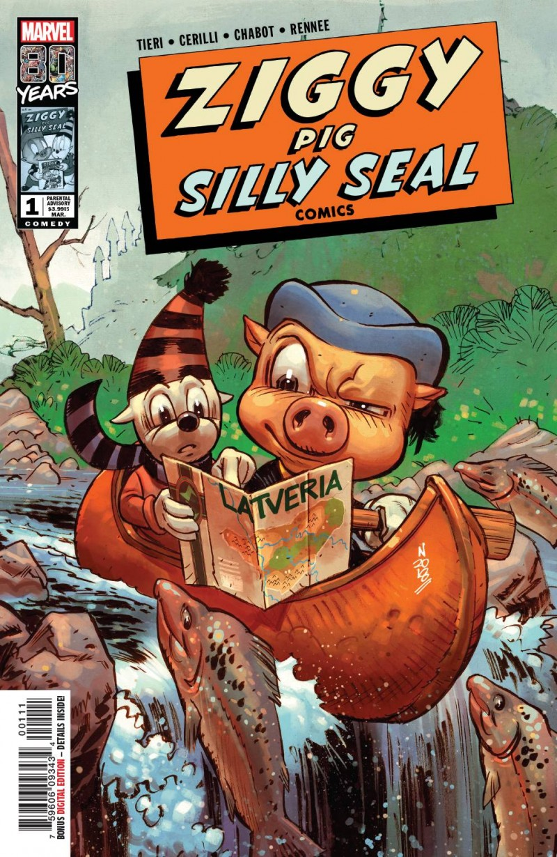 Marvel 80th One-Shot Ziggy Pig Silly Seal Comics