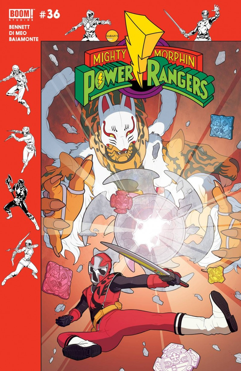 Mighty Morphin Power Rangers #36 CVR B Preorder Murphy