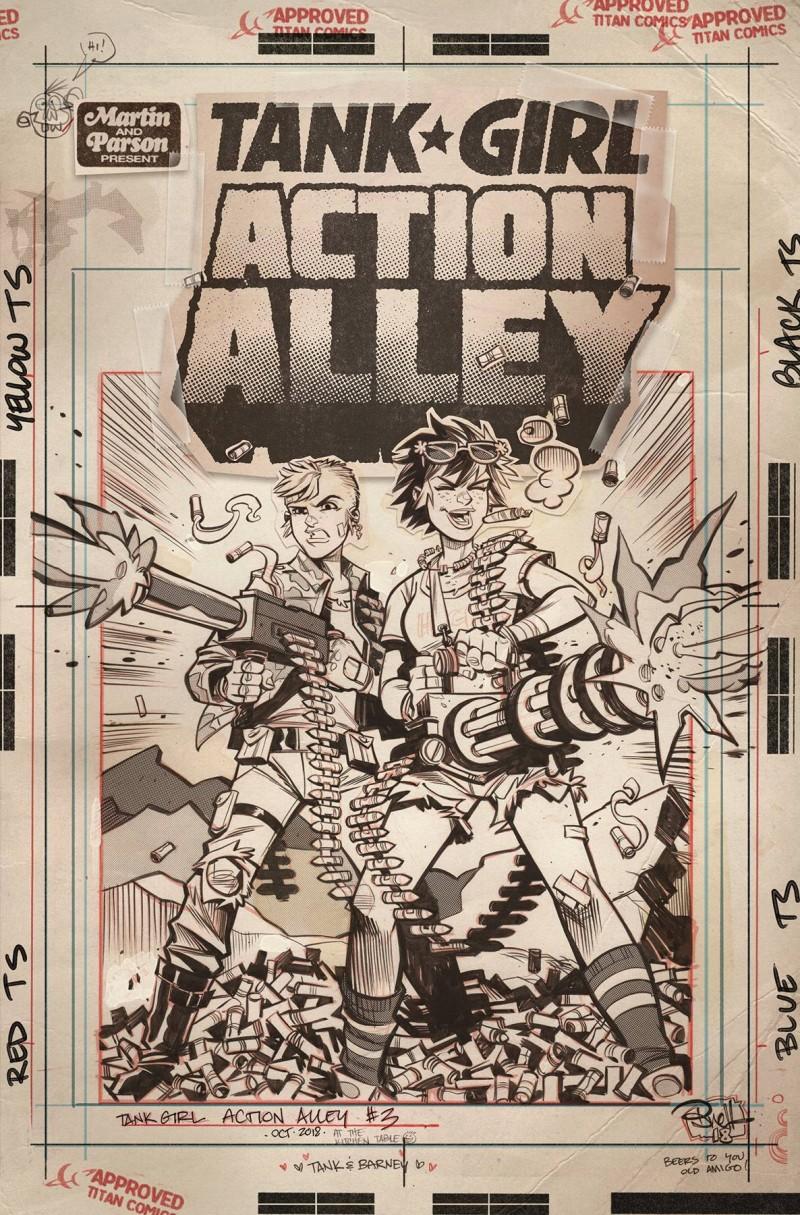 Tank Girl Action Alley #3 CVR C Artist Edition