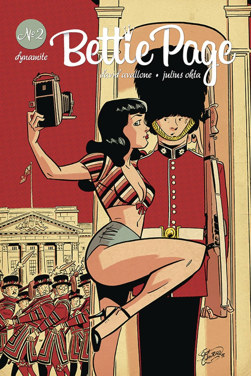 Bettie Page V2 #2 CVR B Chantler