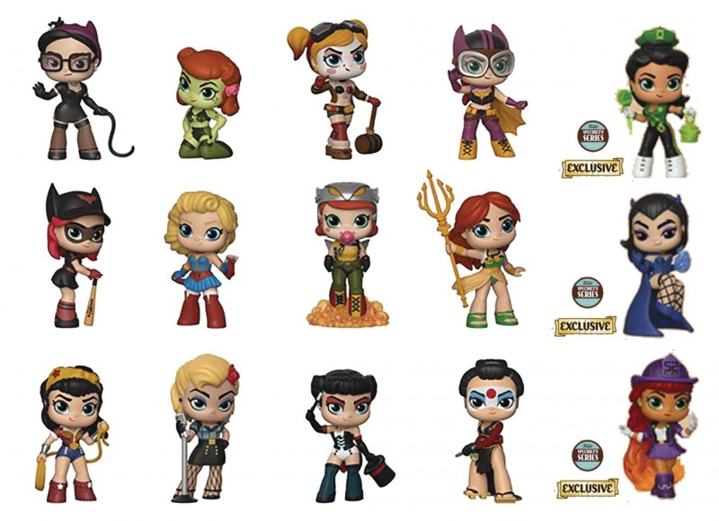 DC Bombshells Mystery Minis Specialty Series Mystery Box