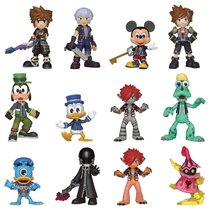 Kingdom Hearts 3 Mystery Minis Mystery Box