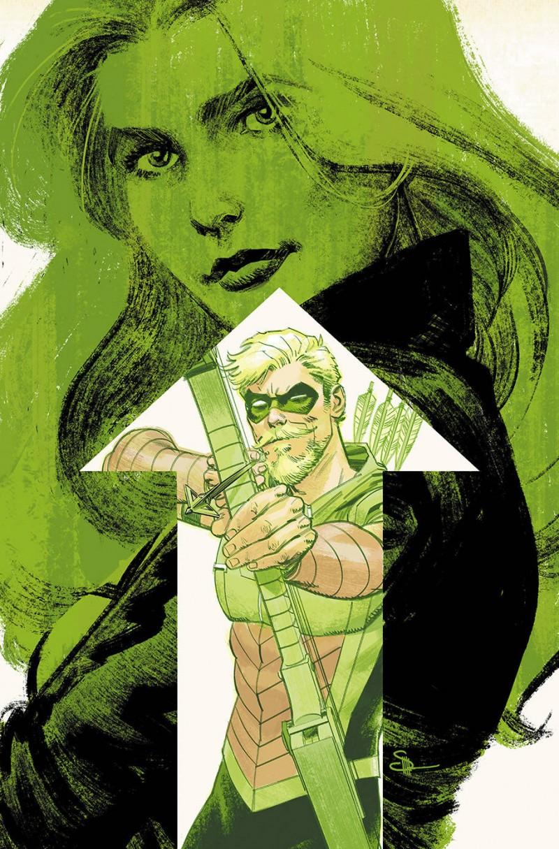 Green Arrow  #50 CVR B