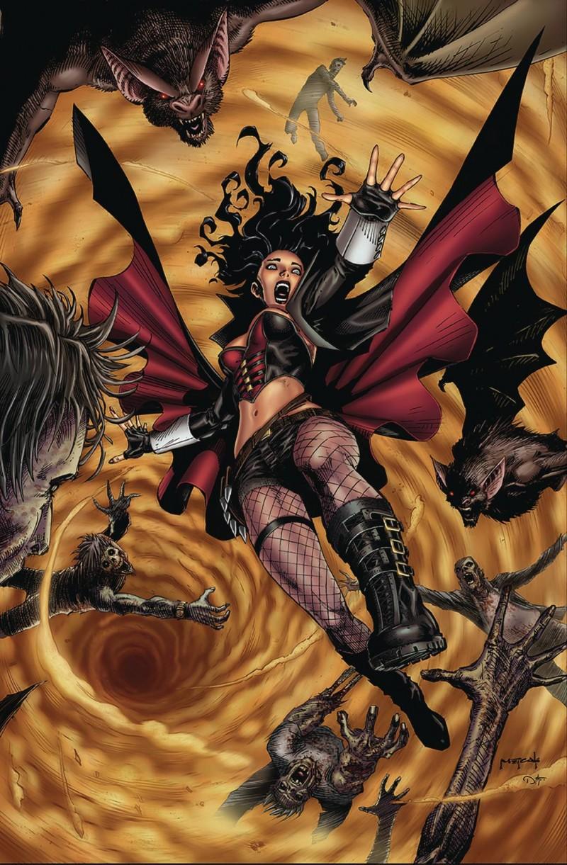 Van Helsing Sword of Heaven #5 CVR D Metcalf