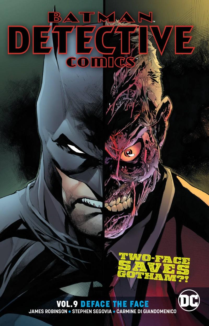 Detective Comics TP  Deface the Face