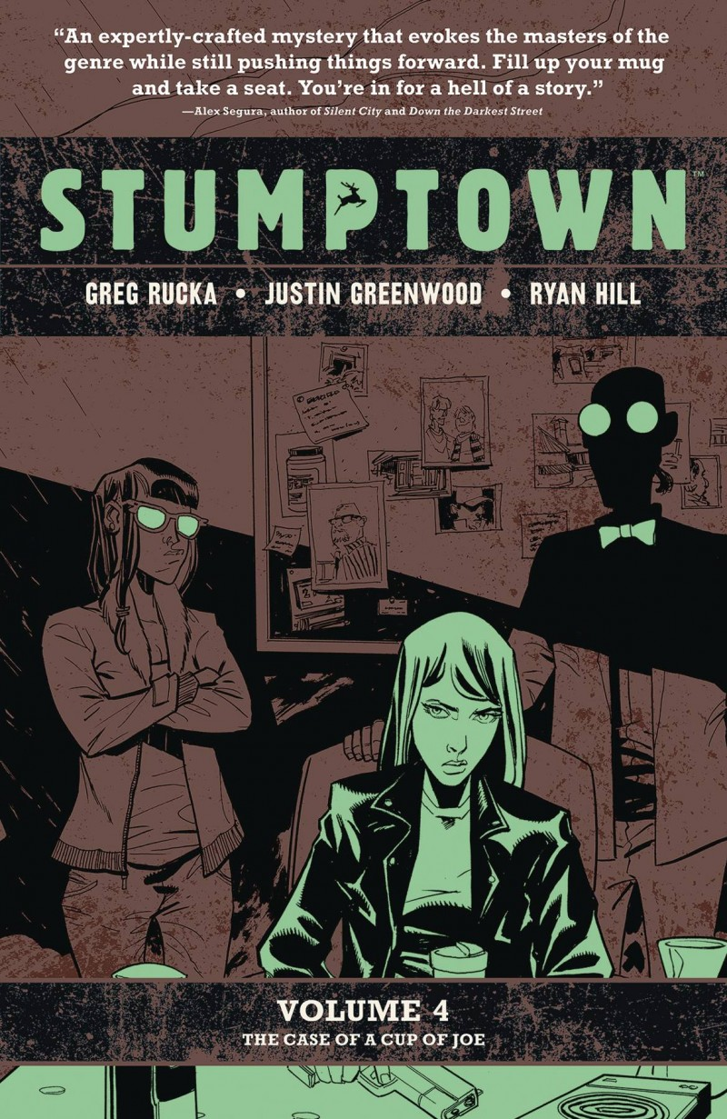 Stumptown TP  the Case of a Cup of Joe
