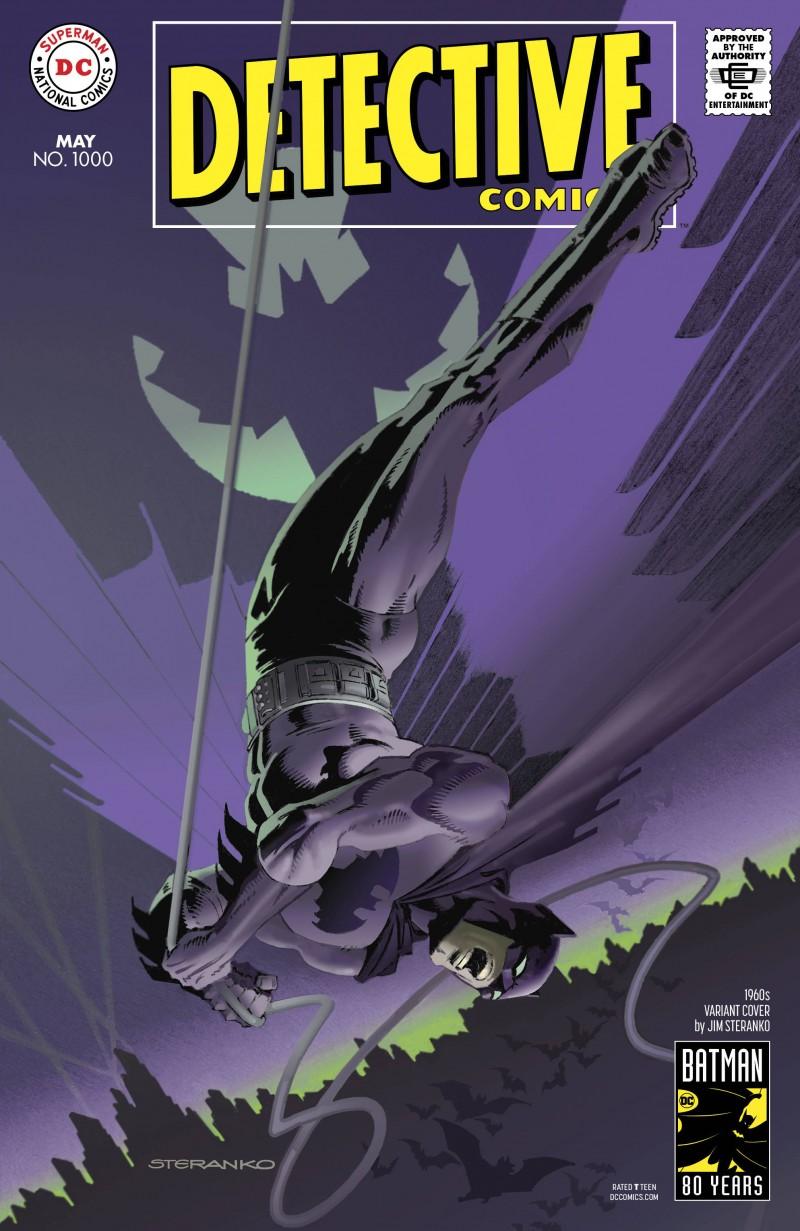 Detective Comics #1000 CVR E 1960s
