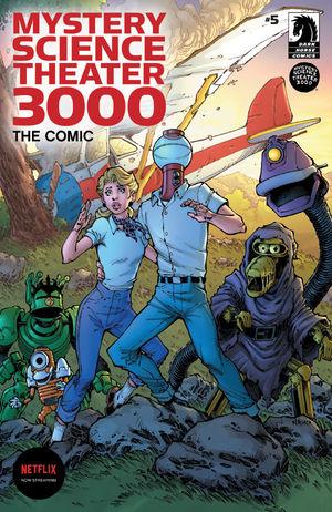 Mystery Science Theater 3000 #5 CVR A Nauck