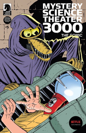 Mystery Science Theater 3000 #5 CVR B Vance
