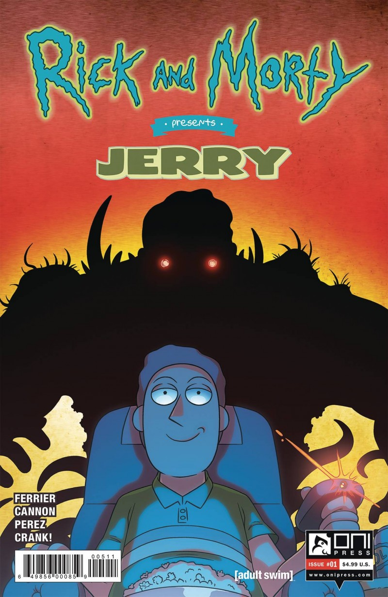 Rick and Morty Presents Jerry One-Shot CVR A
