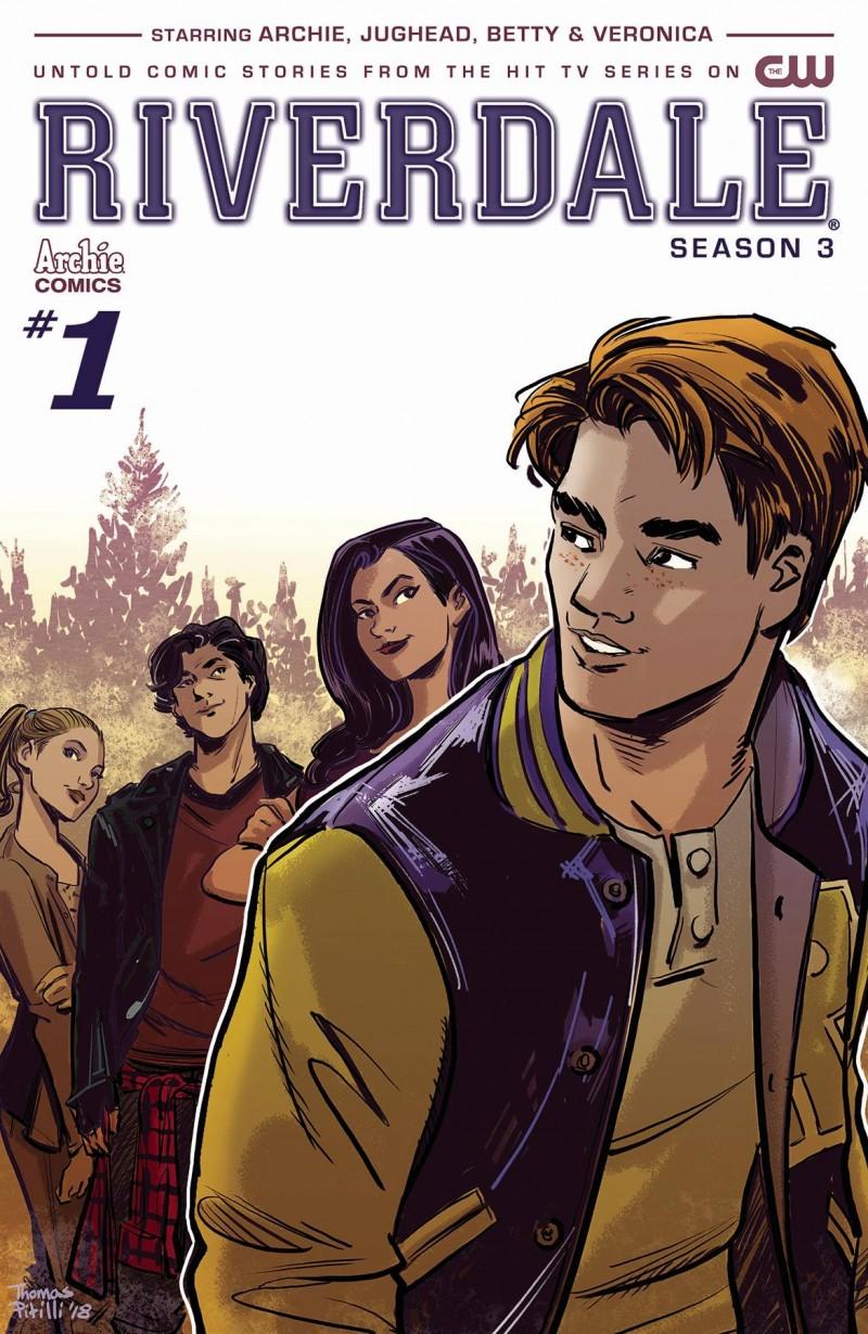 Riverdale Season 3 #1 CVR A Pitilli