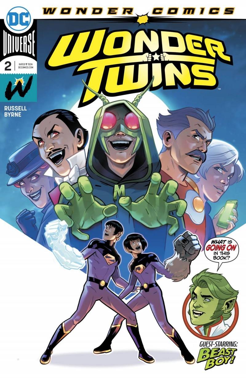 Wonder Twins #2 CVR A