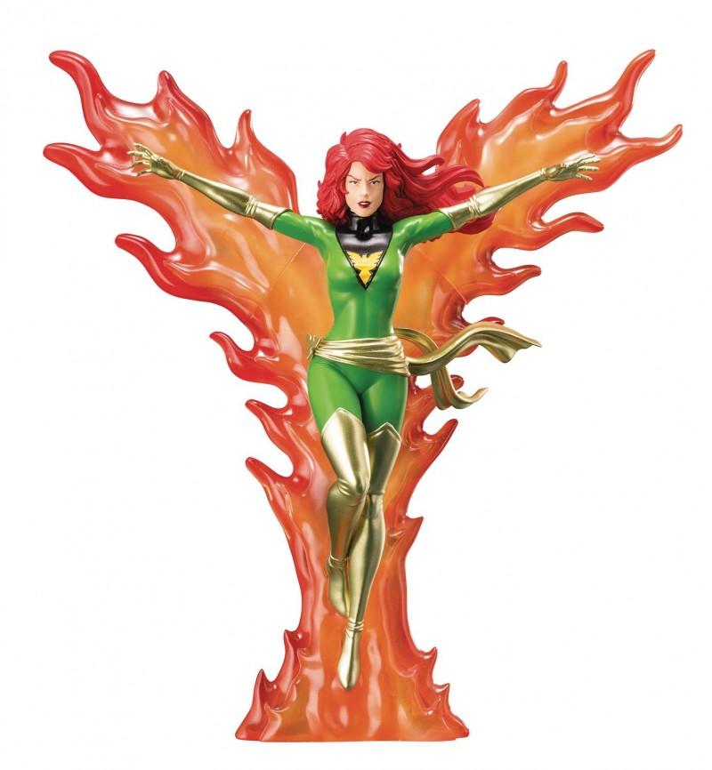 Marvel Statue Artfx X-Men 92 Phoenix Furious Power