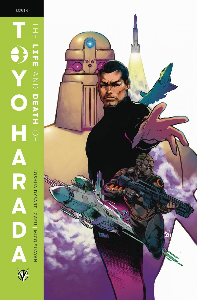 Life and Death of Toyo Harada #1 CVR B Harvey