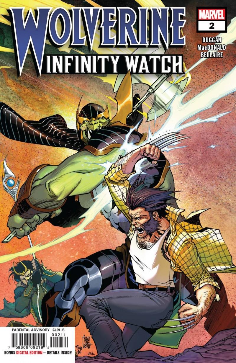 Wolverine Infinity Watch #2