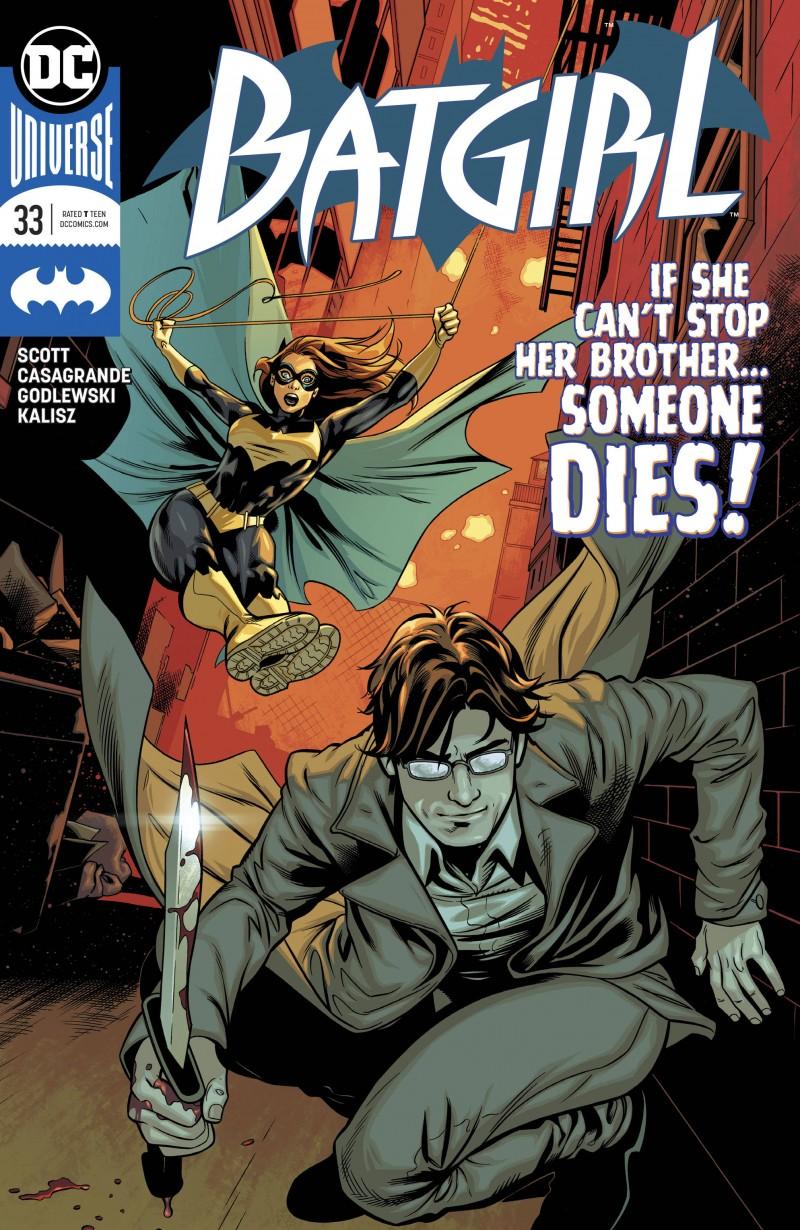 Batgirl  #33 CVR A
