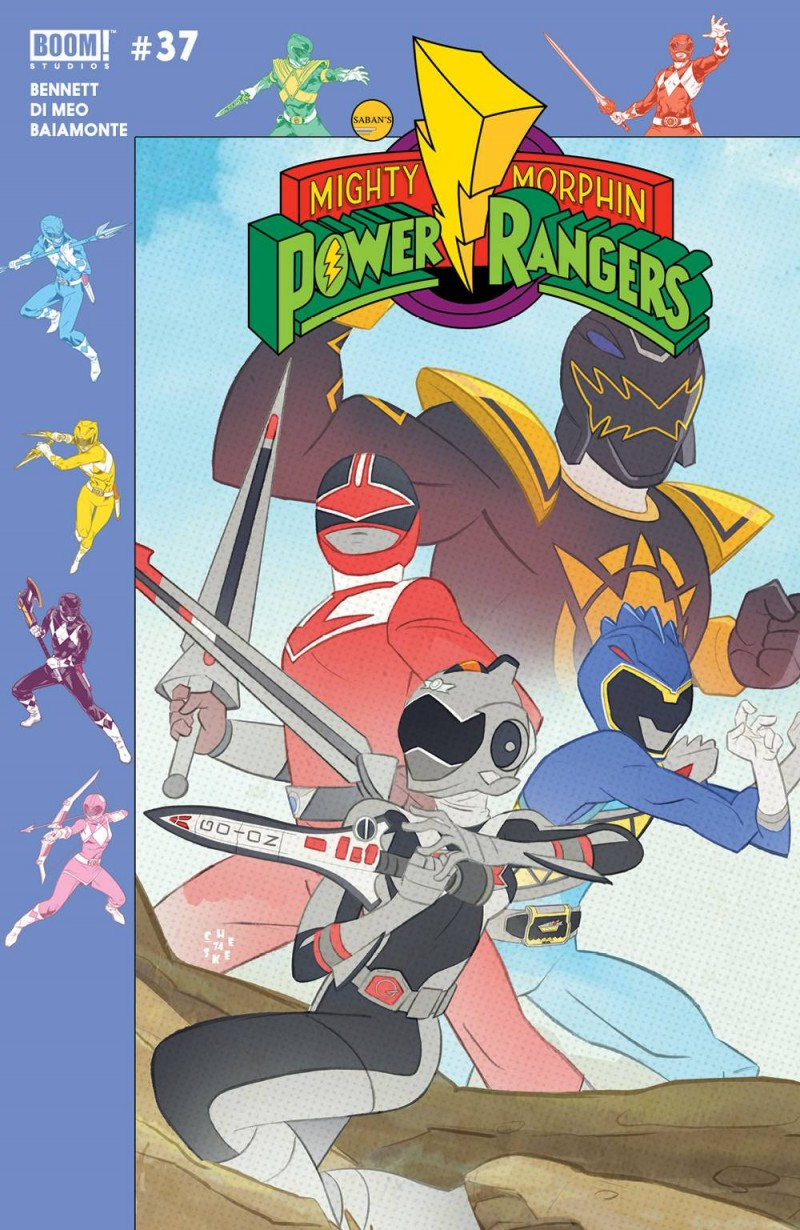 Mighty Morphin Power Rangers #37 CVR B Preorder Gibson