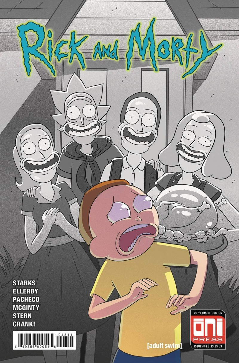 Rick and Morty #48 CVR A