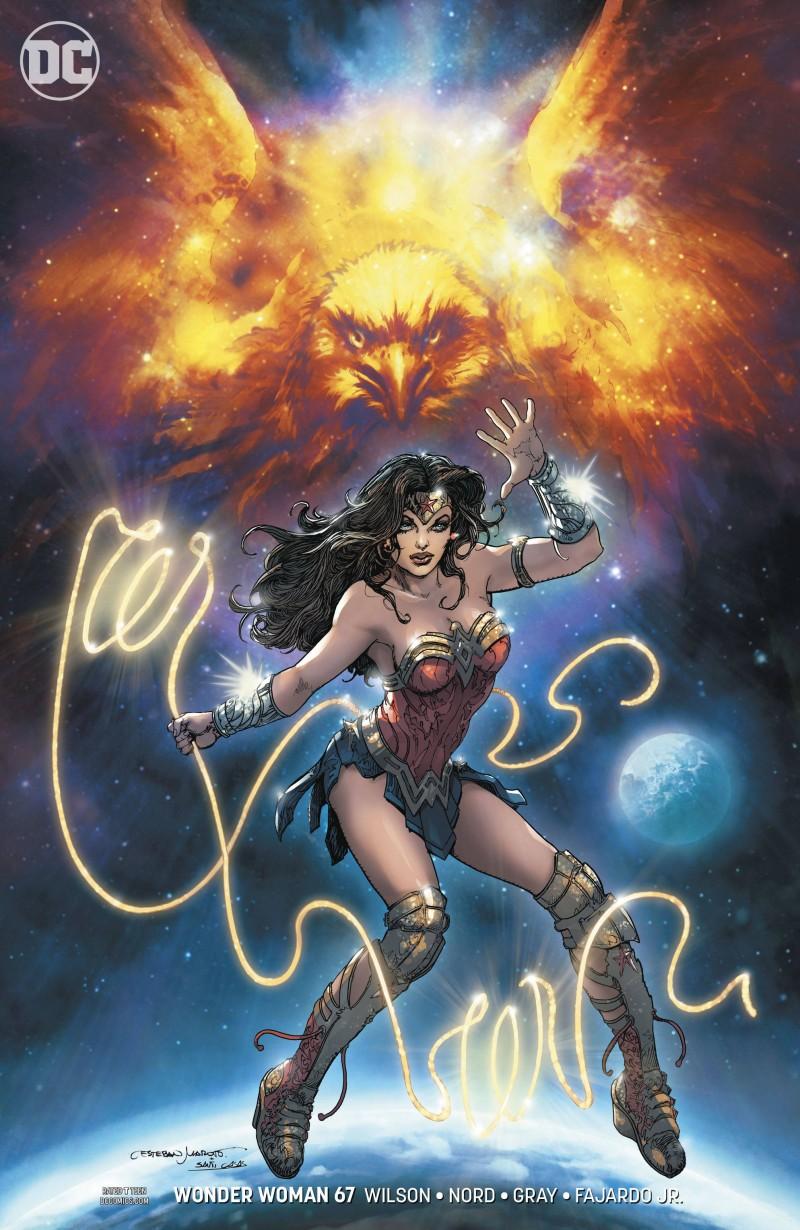 Wonder Woman  #67 CVR B
