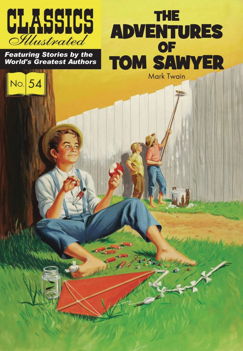 Classic Illustrated TP Adventures of Tom Sawyer