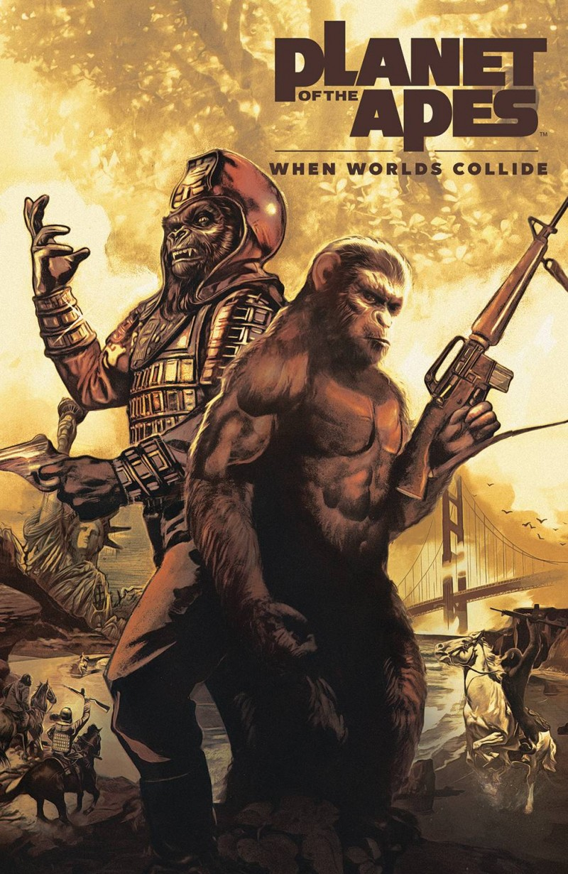 Planet of the Apes TP When Worlds Collide
