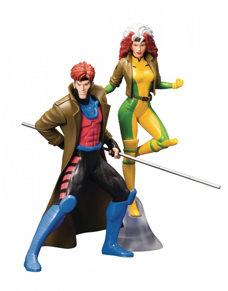 Marvel Statue Artfx X-Men 92 Gambit and Rogue