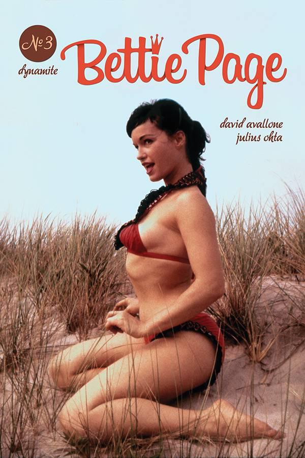 Bettie Page  #3 CVR E Photo
