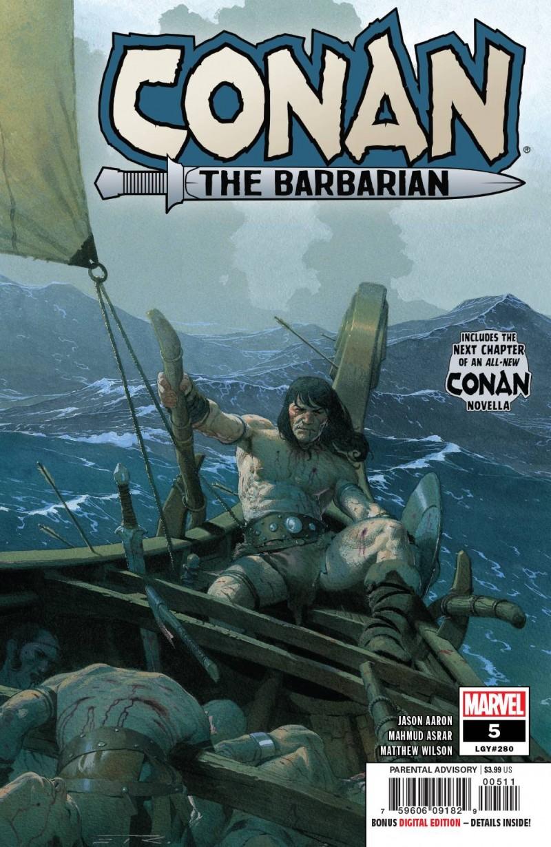 Conan the Barbarian  #5