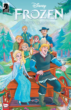 Disney Frozen Reunion Road #2 CVR A Russo