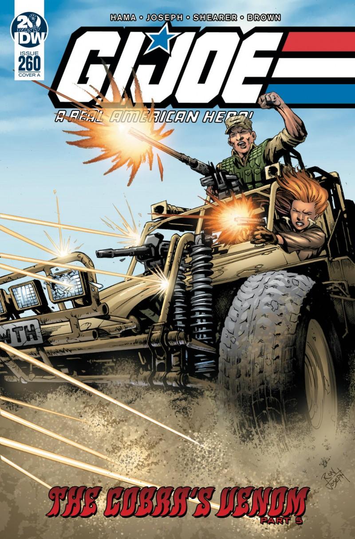 GI Joe  #260 a Real American Hero CVR A Joseph