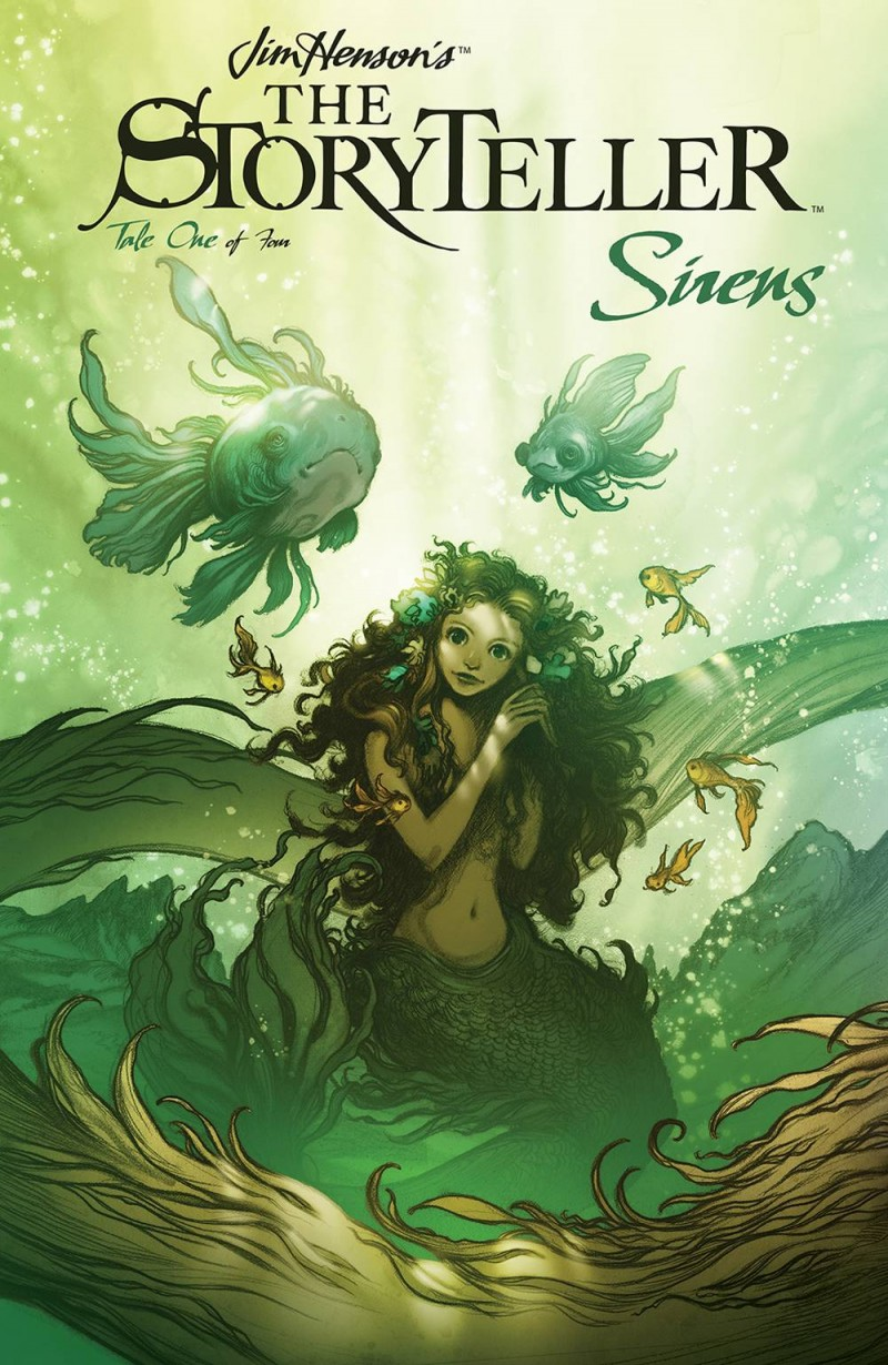 Jim Henson Storyteller Sirens #1 CVR A