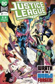 Justice League  #21 CVR A