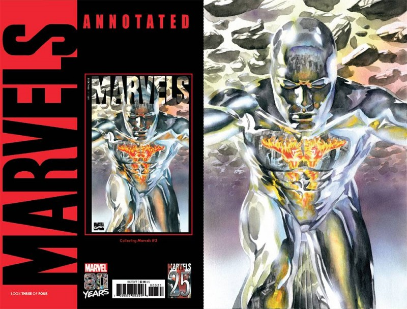 Marvels Annotated #3 CVR C Alex Ross Virgin