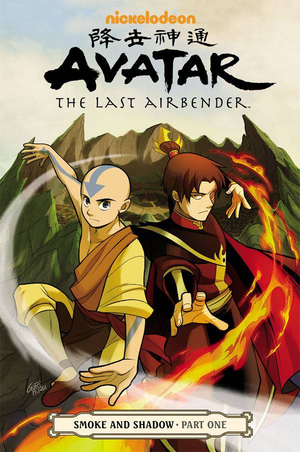 Avatar Last Airbender GN  Smoke and Shadow Part 1