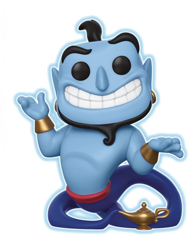 Funko Pop Disney Aladdin Genie With Lamp Glow Version