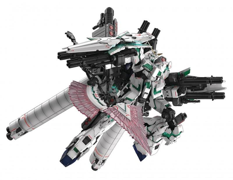 Gundam RG 1/144 UC Full Armor Gundam Unicorn