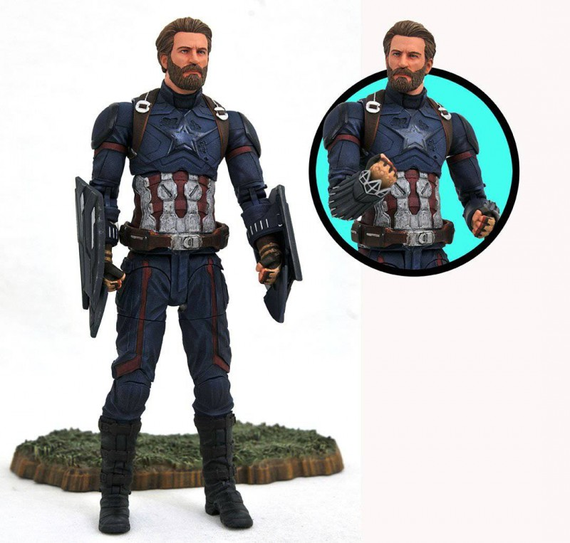 Marvel Select Avengers 3 AF Captain America