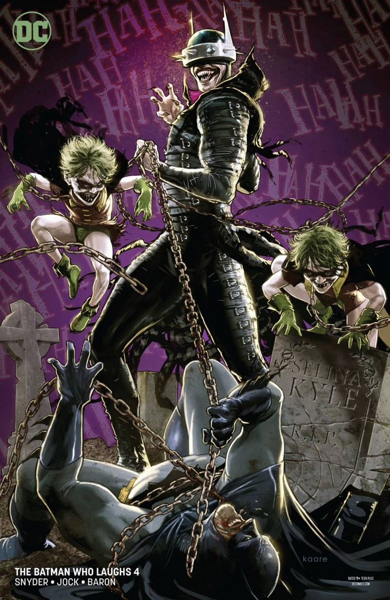 Batman Who Laughs #4 CVR B