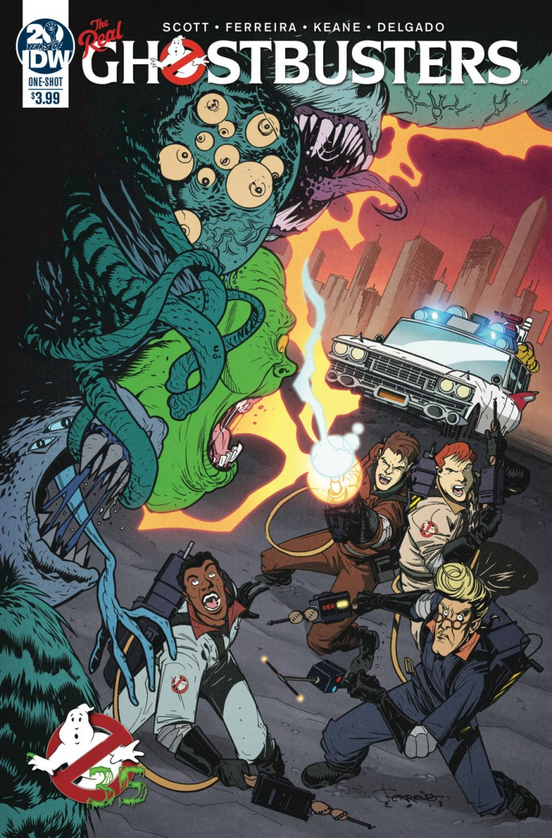 Ghostbusters 35th Anniversary One-Shot Real Ghostbusters