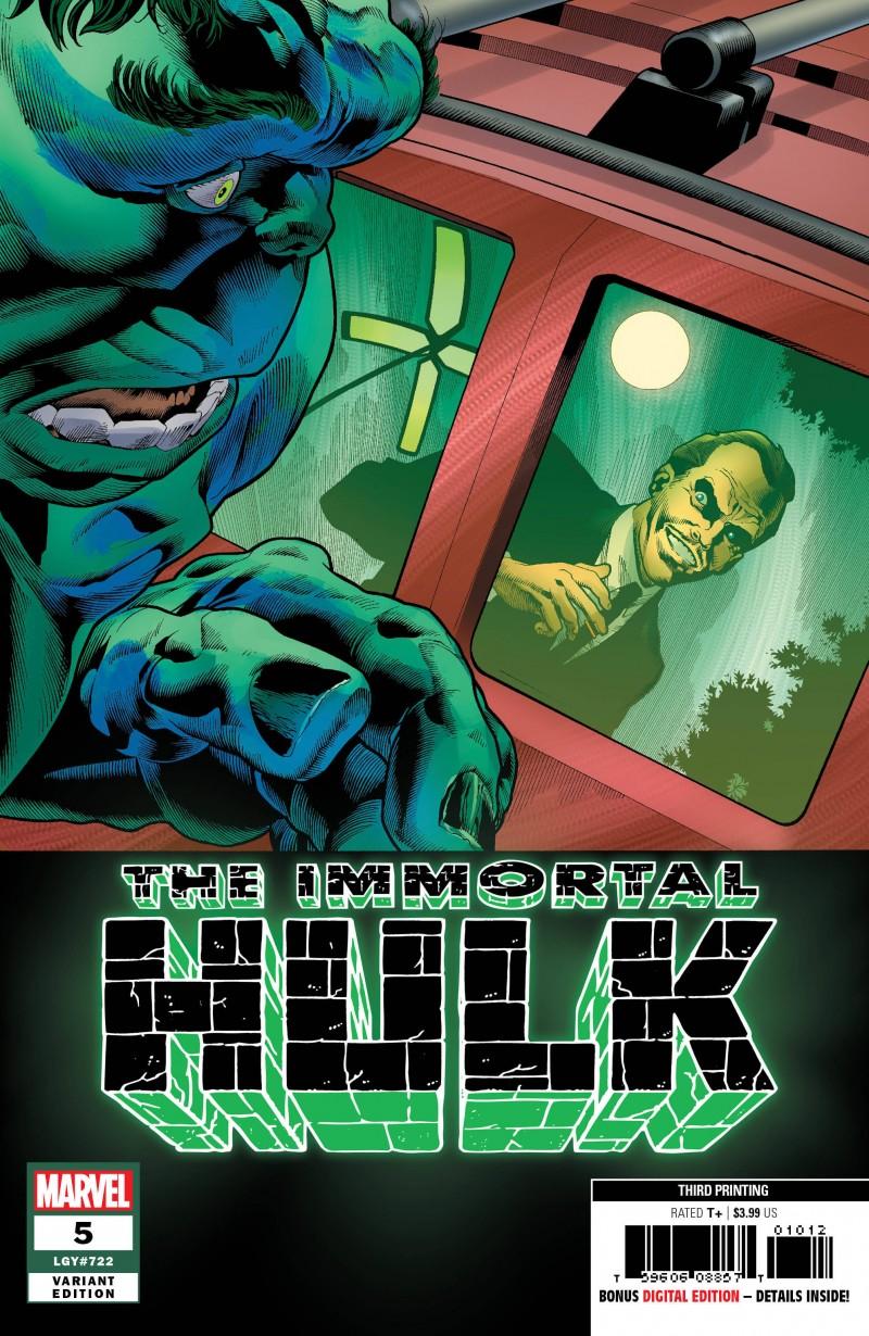 Immortal Hulk #5 Third Printing Bennett