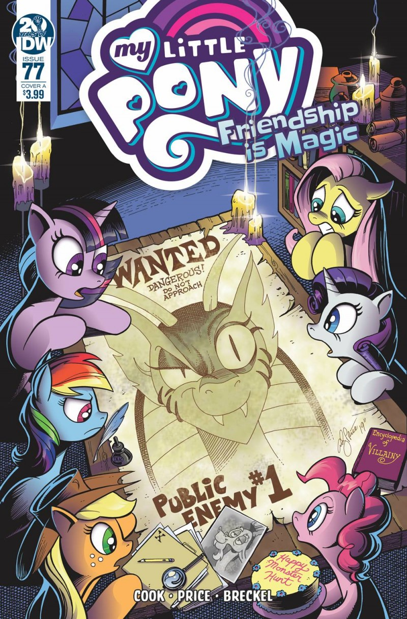 My Little Pony Friendship Is Magic #77 CVR A Price