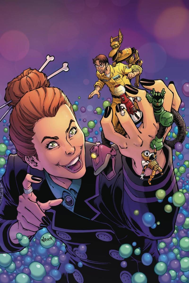Mystery Science Theater 3000 #6 CVR A Nauck