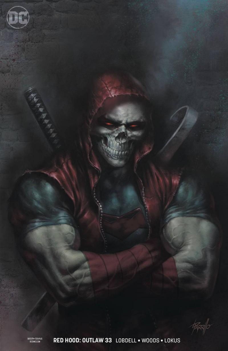 Red Hood Outlaw #33 CVR B