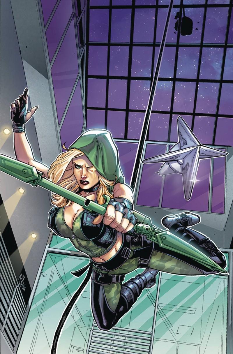 Robyn Hood Outlaw #3 CVR D Spay