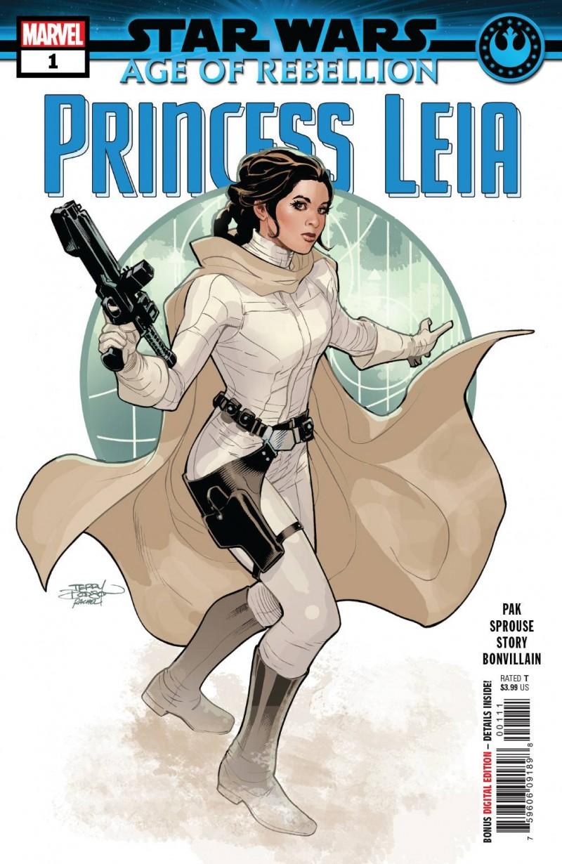 Star Wars Age of Republic One-Shot Princess Leia