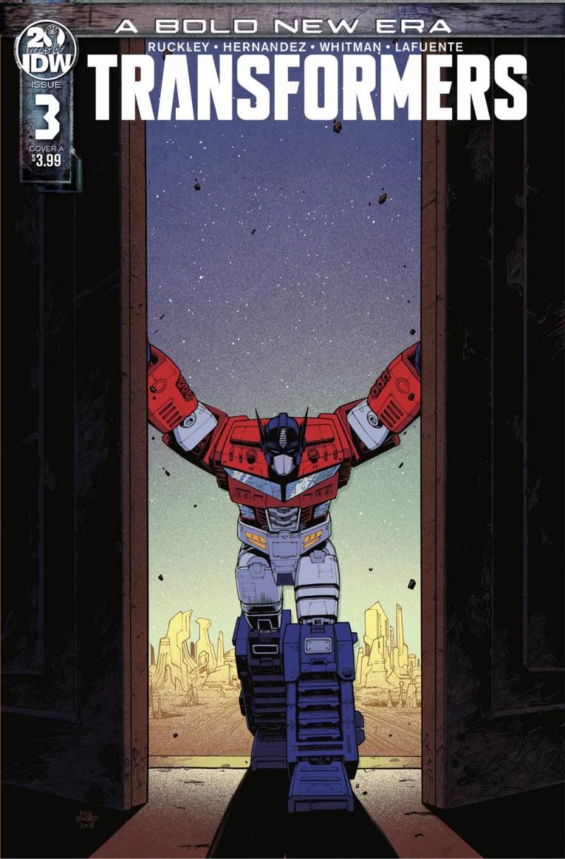 Transformers  #3 CVR A Roche