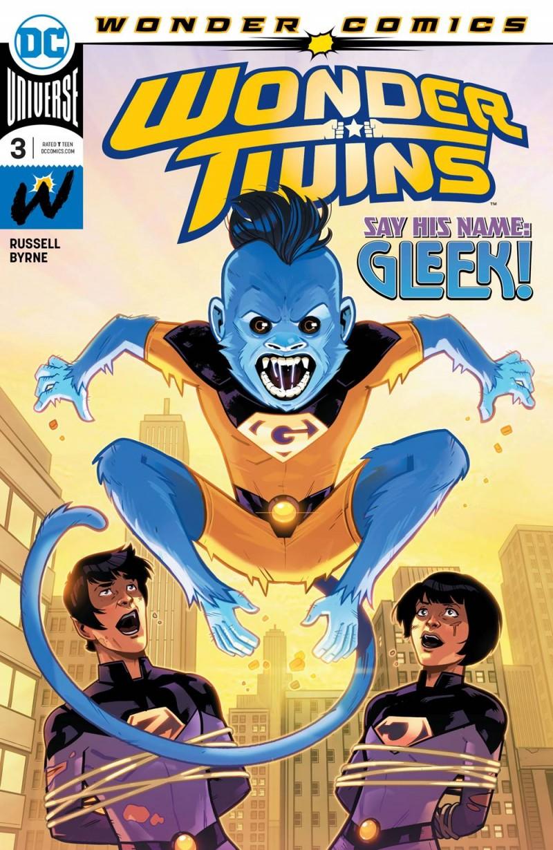 Wonder Twins #3 CVR A